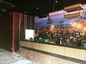Wallpaper Dinding Restoran