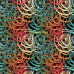 Motif Wallpaper Corak Warna