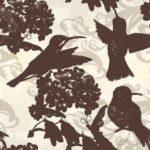 Wallpaper Motif Burung
