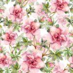 Wallpaper Dinding Motif Floral