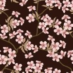 Wallpaper Motif Bunga