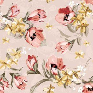 Jenis Wallpaper Motif Kembang Bunga