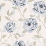 Wallpaper Custom Motif Bunga