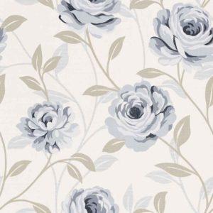 Wallpaper Custom Motif Bunga