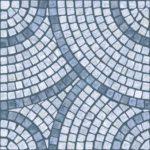 Wallpaper Custom Motif Perisai biru