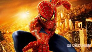 Wallpaper Dinding Gambar Spiderman