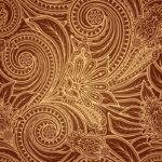 Wallpaper Dinding Warna Gold