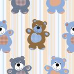 Wallpaper Motif Boneka