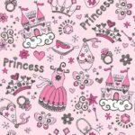 Wallpaper Custom Motif Princess