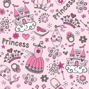 Wallpaper Custom Motif Princess