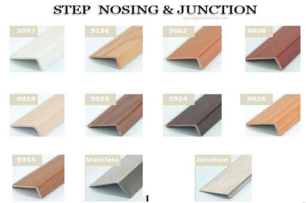 Step Nosing Vinyl Lantai