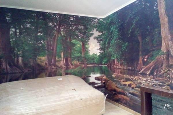 Wallpaper 3d murah